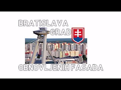Bratislava - grad obnovljenih fasada