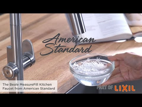 Introducing The Beale MeasureFill Touch Kitchen Faucet