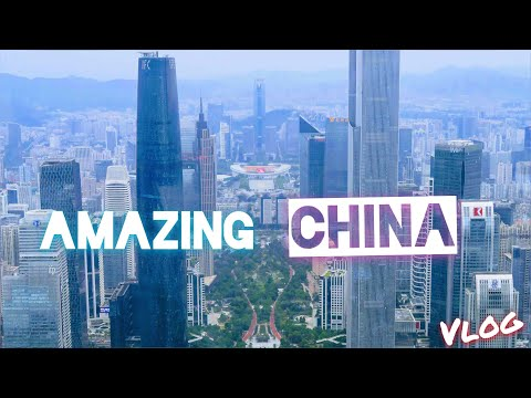 CANTON TOWER VIEW.. VLOG! 🇨🇳 Amazing Guangzhou Future City Tour 🌴 China Travel 2017