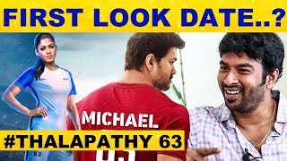 Release Date Of Thalapathy63 First Look – Vijay fans Excited.!