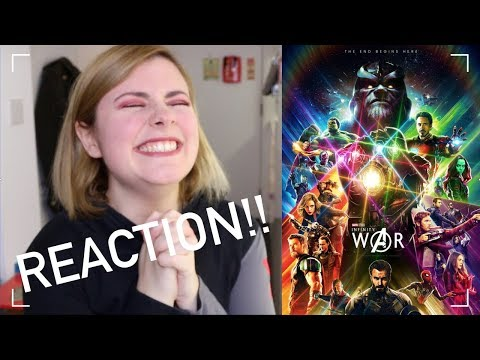 INFINITY WAR TRAILER!! | REACTION