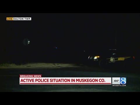 Active police situation in Muskegon County