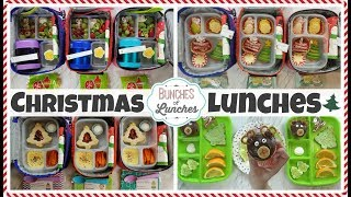 Christmas School Lunch Ideas for KIDS | JK, K, 1st grade, 2nd Grade | 🎄 Bunches of Lunches
