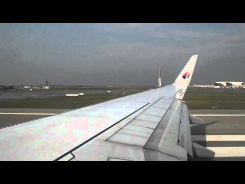 Malaysia Airlines | MH147 | Kuala Lumpur to Mumbai [Take off]