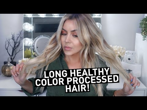 5 Tips for Long HEALTHY Color Processed hair