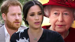 Queen Elizabeth BREAKS SILENCE on Harry and Meghan's Oprah Interview
