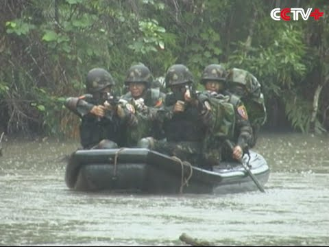Chinese Team Tops in International Commando Competition