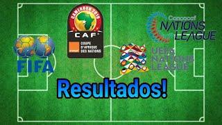 FRANCIA DERROTA A HOLANDA! Resultados Liga de Naciones UEFA-CONCACAF FS Copa ÁFRICA 2019 Amistosos