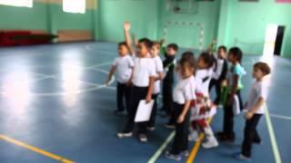 Физическая культура 1С Обучение опорно двигательным навыкам посредством игры Прыжки разным способом