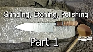 Grinding, Polishing, Etching Part 1