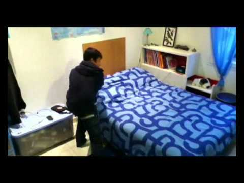 comment faire son lit rapidemment youtube. Black Bedroom Furniture Sets. Home Design Ideas
