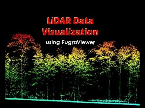 LiDAR Data Visualization using FugroViewer
