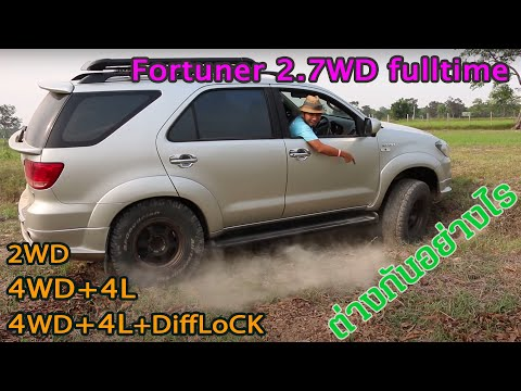 Fortuner 2.7vvti 4wd fulltime with electric difflock by สุดซอยออฟโลด