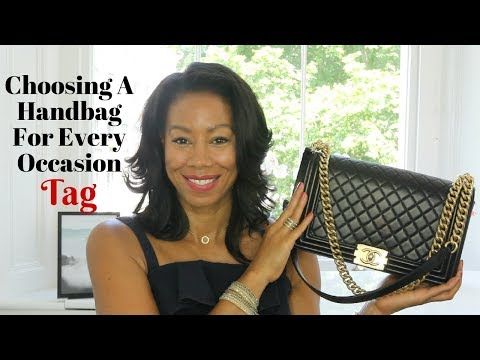 Choosing A Handbag For Every Occasion Tag | Time With Natalie