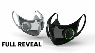Razer Smart Mask: Project Hazel - Official CES 2021 Reveal