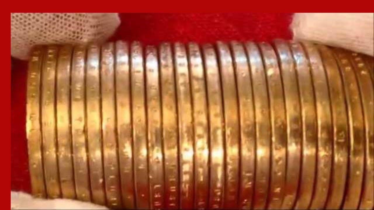 COIN ROLL HUNTING $25 ROLL OF