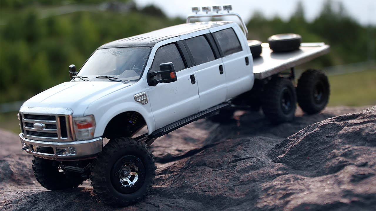hight resolution of ford f 350 6wd 6 door losi micro crawler pale bloom