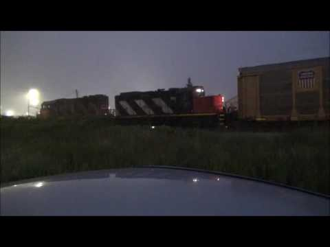 CN Train To Autoport Dartmouth Sub