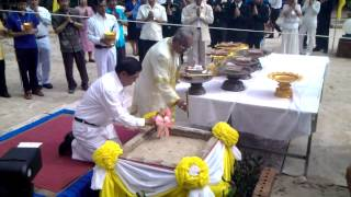 PRA - Melting Gold for Buddha Statue Ceremony - 3