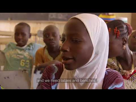 Meet Latifa, A Plan International Sponsored Child from Niger