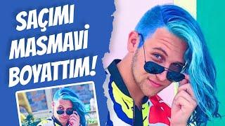 Gambar cover SAÇIMI MASMAVİ BOYATTIM!