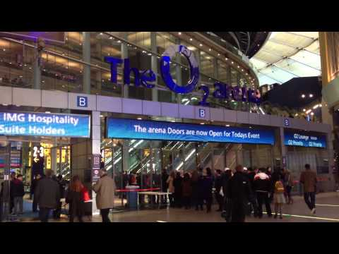 Inside The O2 Arena, London