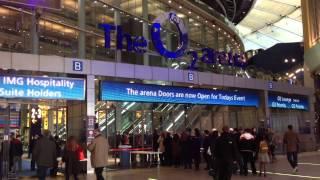 Inside The O2 Arena, London