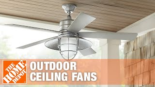 Outdoor Ceiling Fans | The Home Depot