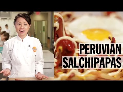 Viv Makes Peruvian Salchipapas | Food Network
