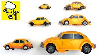 Bumblebee Movie 2018 mpm 07 ss18 Volkswagen Beetle car toys for kids with transformer トランスフォーマー