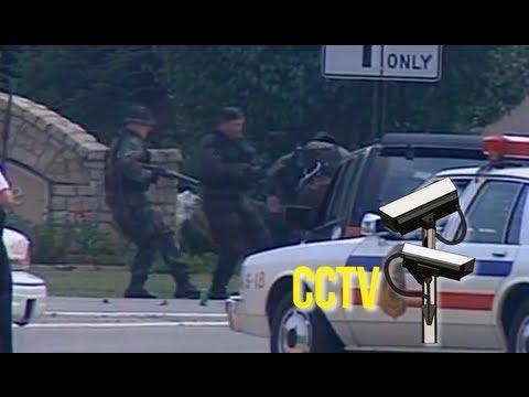 Sniper shoots gun from criminal's hand
