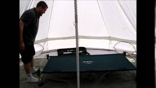 Disc-o-bed Cam-o-bunk Xl Real Time Construction, Or, A Fat Bloke Puts Up A Camp Bed :-)