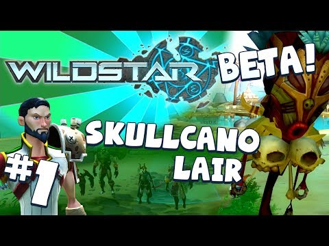 WildStar Beta – Skullcano Lair! (Dungeon Run #1)