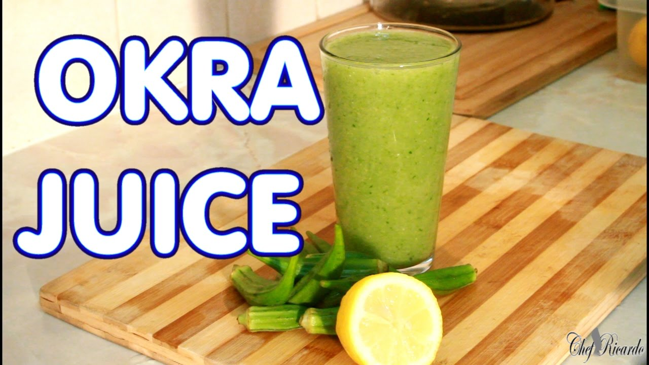 Okra Juice How To Loss Weight Fat Withe Okra Juice ...