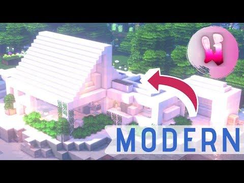 Modern Beach House in Minecraft!