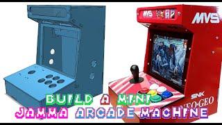 Build a Mini Neo Geo Arcade Machine
