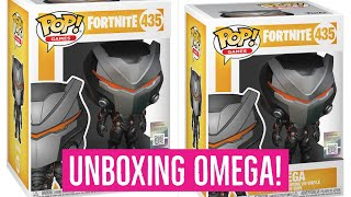 Funko Pop Vinyl Fortnite OMEGA Unboxing! Fortnite Battle Royale! Fortnite toy collectables! Pop 453