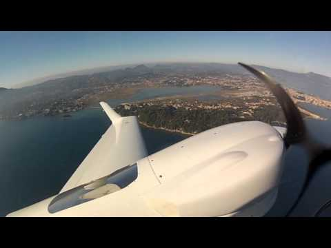 DA42-VI IFR Corfu to Milan, CAT I ILS to minimums