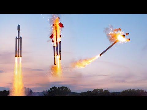 Falcon Heavy Model - Flight 2
