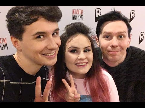 meeting dan and phil in helsinki