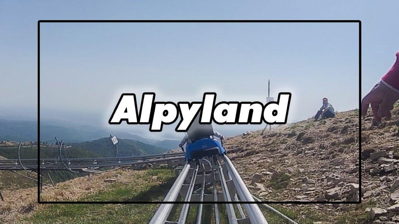 DISCESA CON IL BOB - MOTTARONE - ALPYLAND