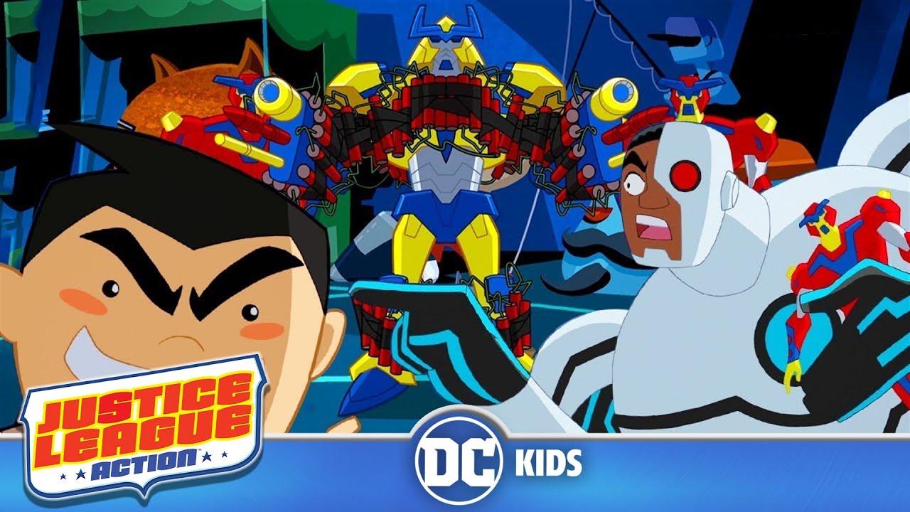 Justice League Action Mint Condition Episode 12 Youtube Bott Funko Pop Jl Cyborg Shorts S1 E12