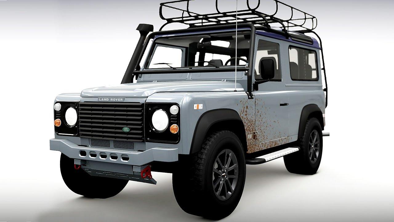 forza horizon 2 custom car build land rover defender