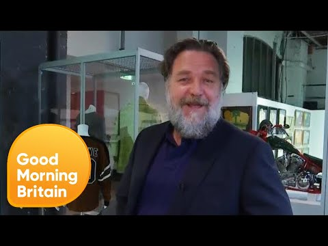 Russell Crowe's Divorce Auction  Good Morning Britain