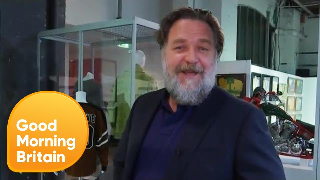 Russell Crowe's Divorce Auction | Good Morning Britain ...