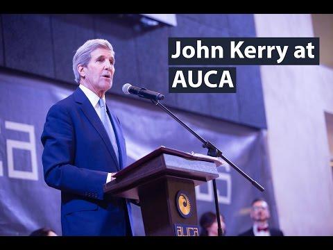 John Kerry at AUCA