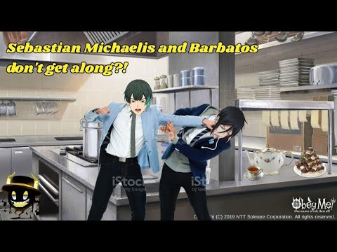 Download Sebastian Michaelis and Barbatos don't get along?! // Black Butler x Obey Me! Crossover
