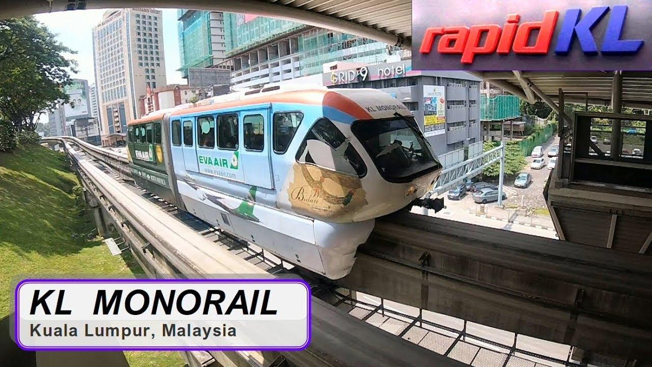 Monorail Kuala Lumpur. Trip to Chinatown kl. Kuala Lumpur Tourism ...