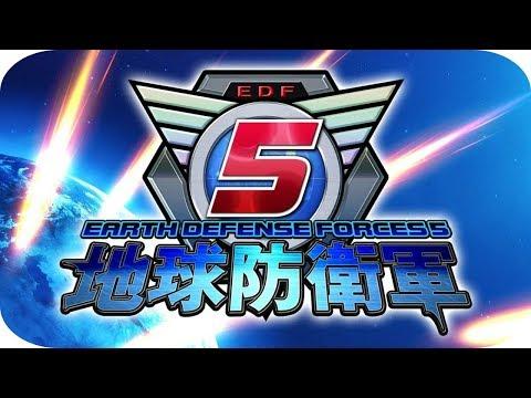 """Earth Defense Force 5 [PS4] Gameplay Español """"El Ataque de los Bichos Gigantes"""" 🐜"""