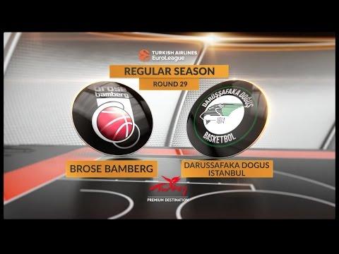 Highlights: Brose Bamberg-Darussafaka Dogus Istanbul
